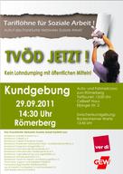 """""""Aktionstag - Tariflöhne für soziale Arbeit"""" am 29.09.2011 1"""