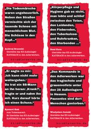24. März 1945 - Todesmarsch der KZ-Häftlinge aus den Frankfurter Adlerwerken