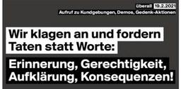 Am 19. Februar ist der rassistische Anschlag in Hanau ein Jahr her.