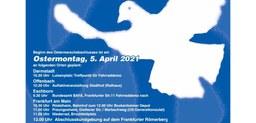 Aufruf zum Ostermarsch 2021 in Frankfurt und Offenbach:  Abrüsten statt Aufrüsten