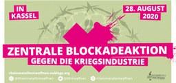 Blockadeaktion gegen Rüstungsindustrie in Kassel