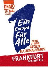 """""""Ein Europa für alle – Deine Stimme gegen Nationalismus"""""""