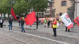 Eindrücke vom 1. Mai, Konsequenzen der Einschränkungen unseres Protestes