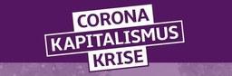 """Fahrraddemonstration """"Corona; Kapitalismus; Krise"""""""