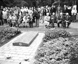 Gedenkstein für die ermordeten KZ-Häftlinge in den Adlerwerken