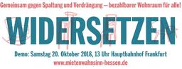 #Mietenwahnsinn-Hessen