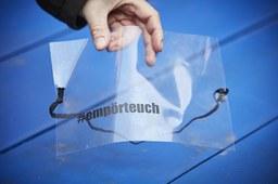 Plastikfolie vor Europäischem Gerichtshof für Menschenrechte